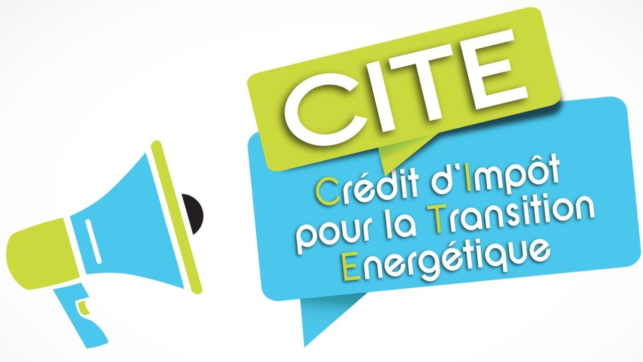 CITE : credit impot transition energetique